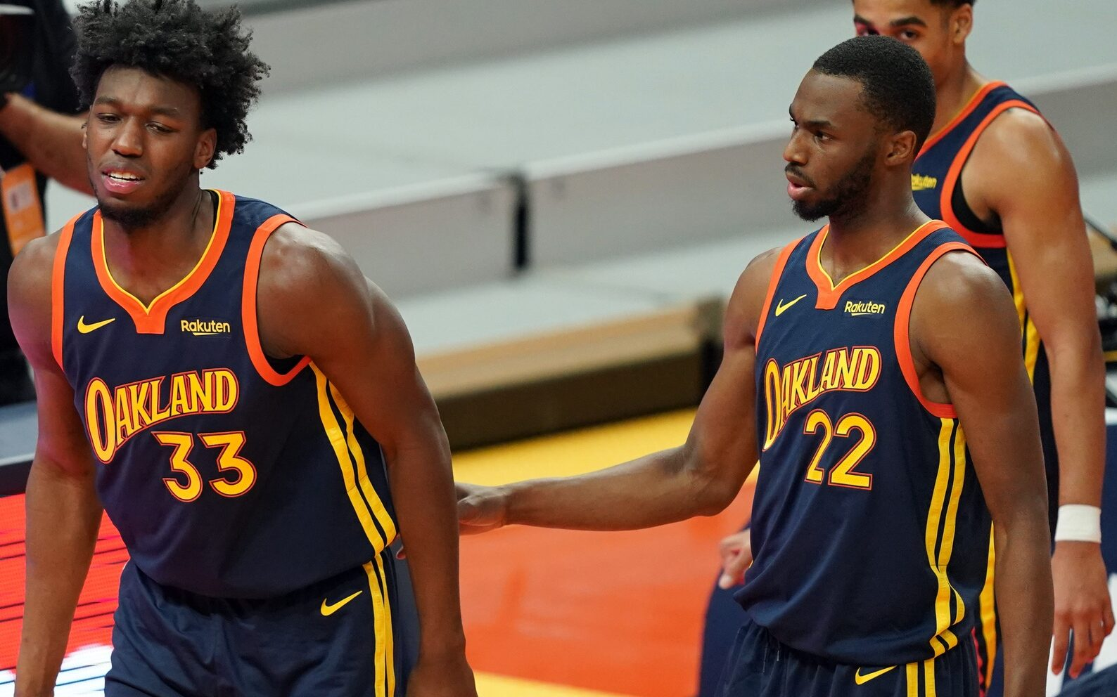 James Wiseman and Andrew Wiggins