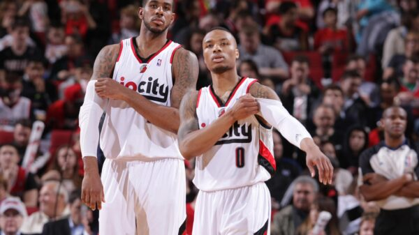 LaMarcus Aldridge and Damian Lillard