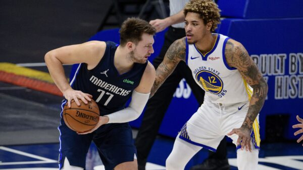 Luka Doncic and Kelly Oubre