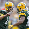 Aaron Rodgers and Randall Cobb