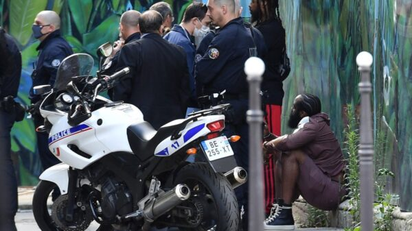 James Harden stopped by French police