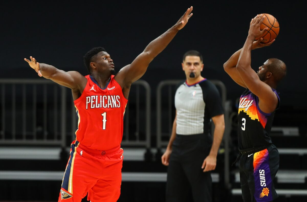 Chris Paul and Zion Williamson