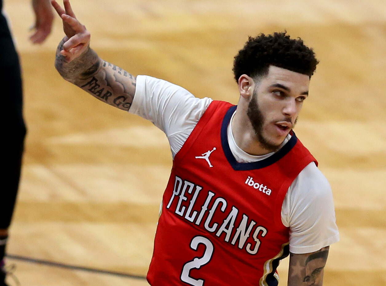 Lonzo Ball New Orleans Pelicans