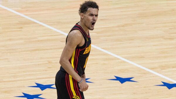 Trae Young Hawks
