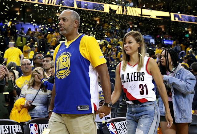 Dell Curry and Sonya Curry