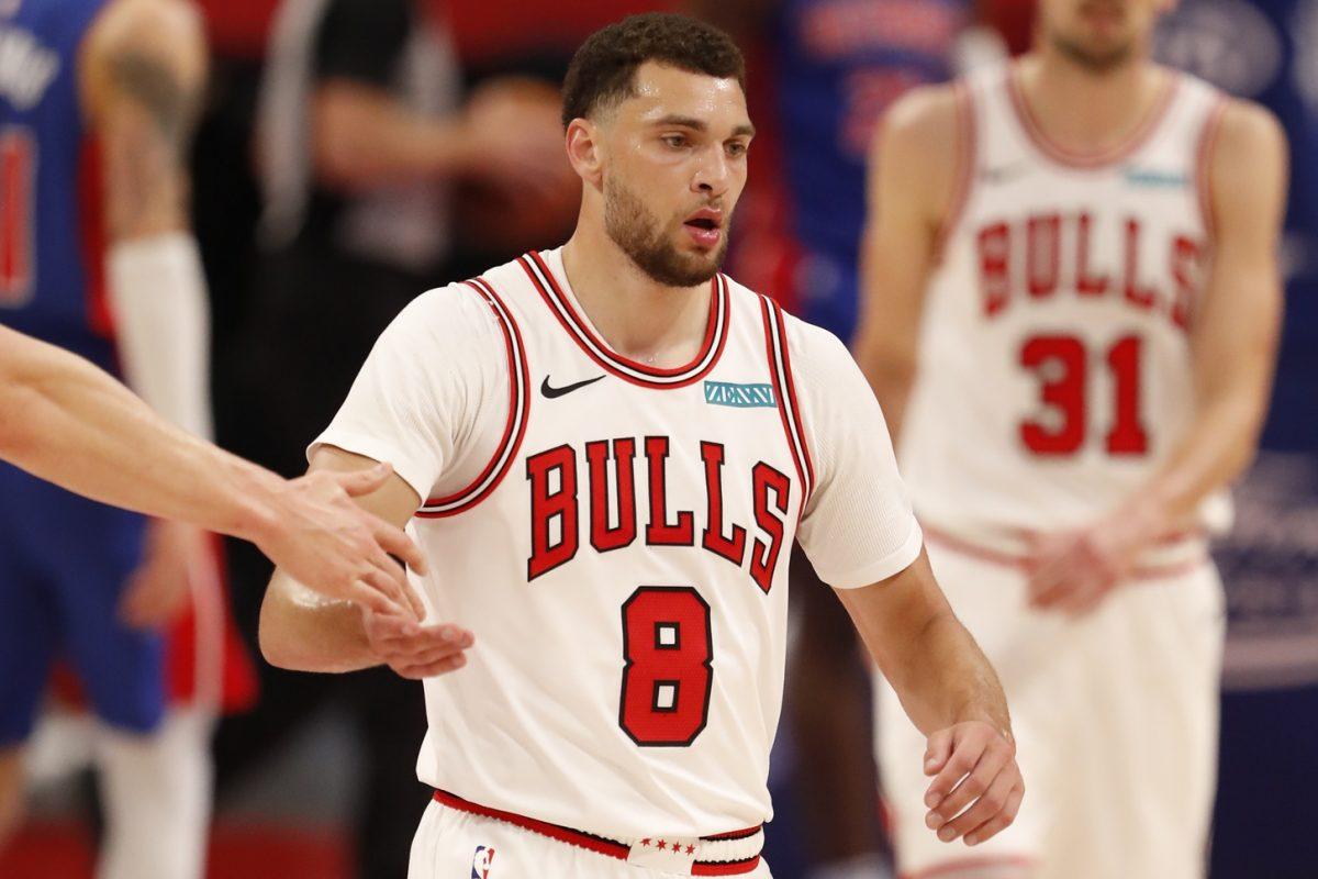 Zach LaVine Chicago Bulls