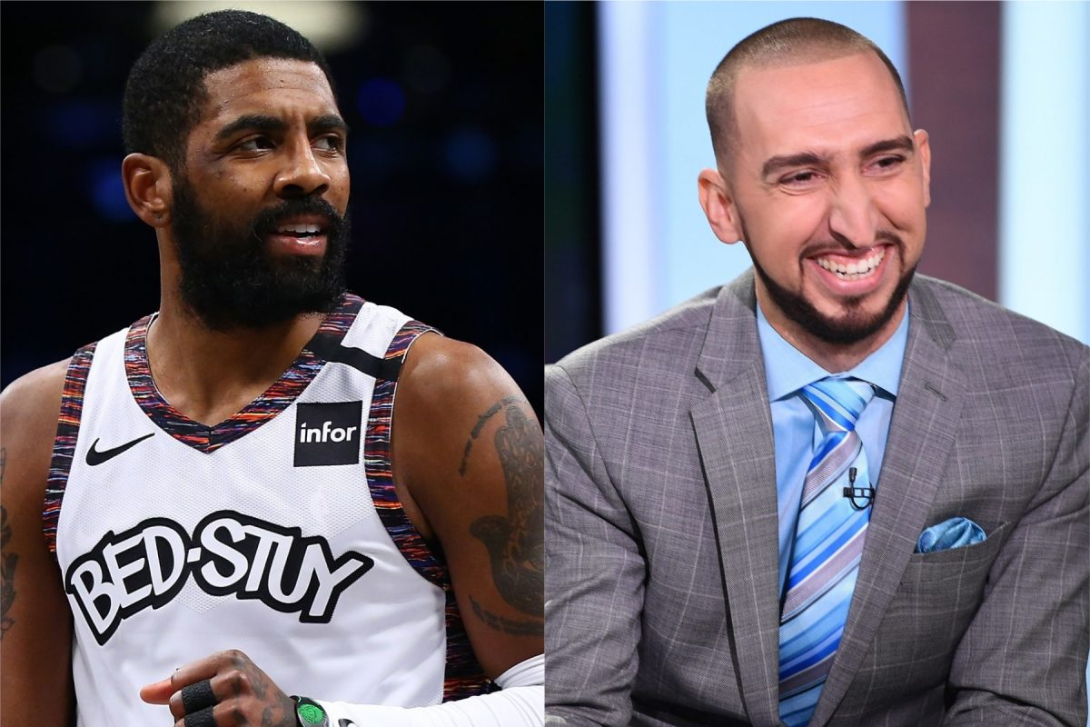Kyrie Irving and Nick Wright