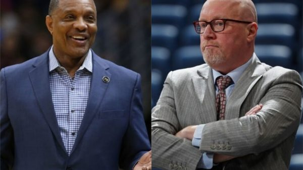 Alvin Gentry and David Griffin