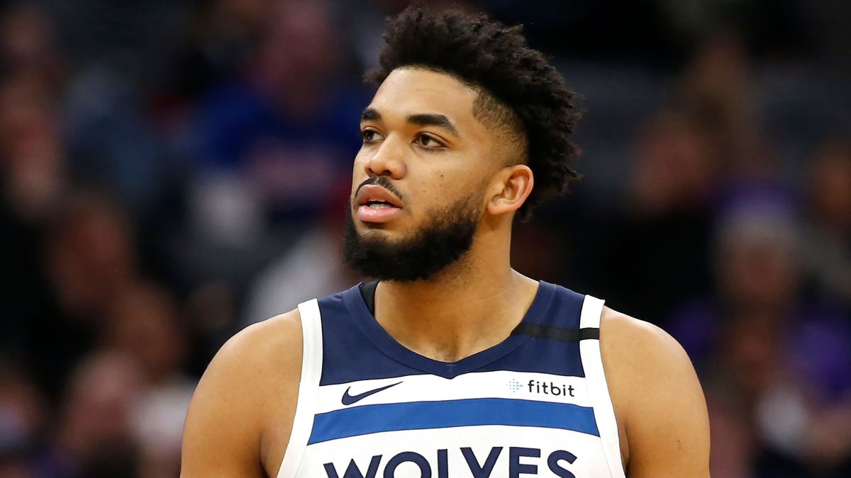 Karl-Anthony Towns Wolves