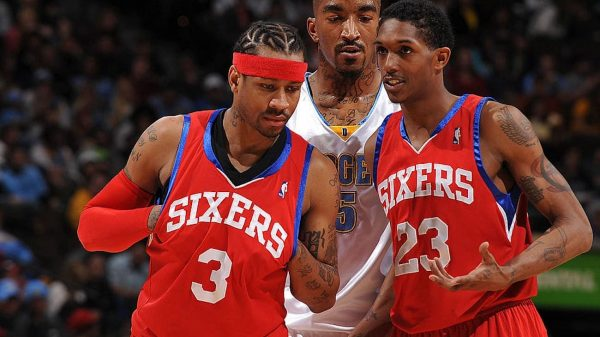Allen Iverson and Lou WIlliams