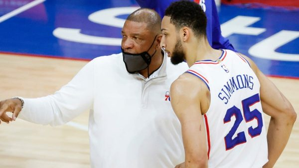Doc Rivers and Ben Simmons