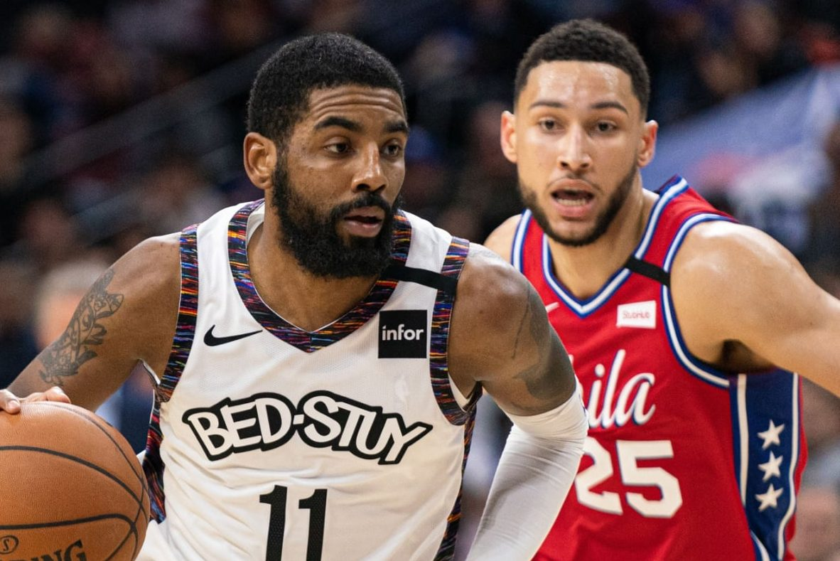 Ben Simmons and Kyrie Irving