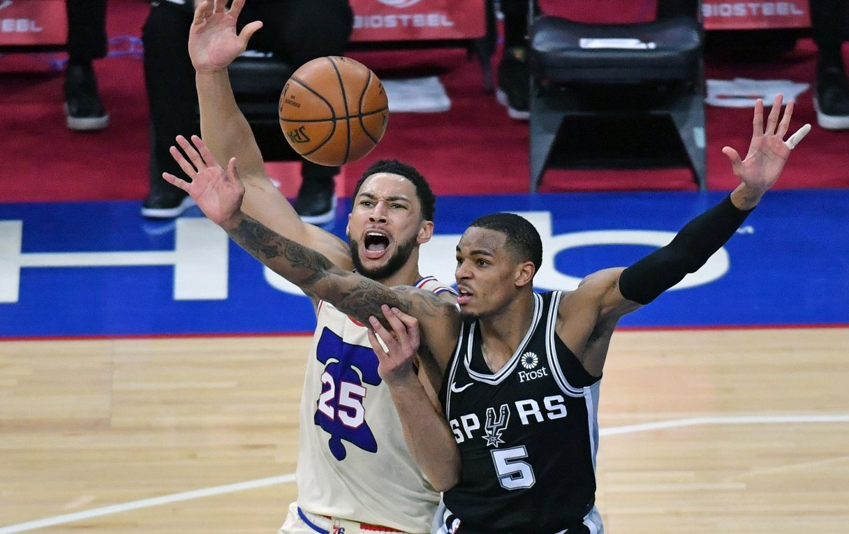 Ben Simmons and Dejounte Murray