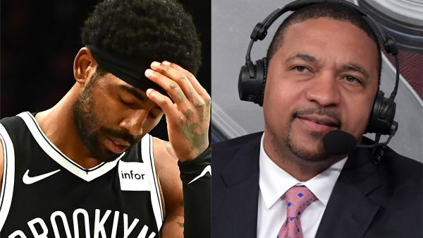 Kyrie irving and Mark Jackson